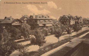 SEATTLE , Washington , 00-10s ; A Residence Street, Capitol Hill District