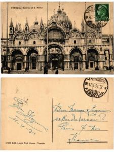 CPA Venezia Basilica di S. Marco. ITALY (521190)