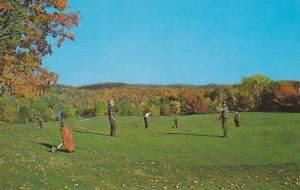 Gofing in the Fall, at Larrimac Golf Club, in the beautiful Gatineau Valley, ...