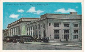 California Los Angeles Southern Pacific Railroad Station