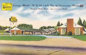 VANCOUVER , Washington , 30-40s ; Larry´s Motel