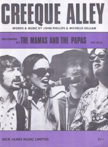 Creeque Alley The Mamas & Papas 1960s Sheet Music