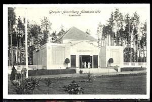 Germany Allenstein Trade Expo 1910 Art Pavilion
