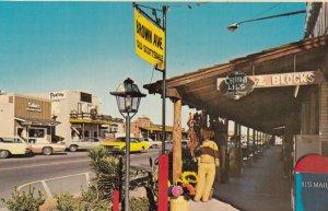 SCOTTSDALE, Arizona, 40-60s; Brown Avenue