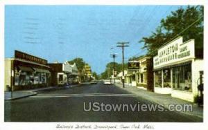 Business District, Dennisport Cape Cod MA 1966