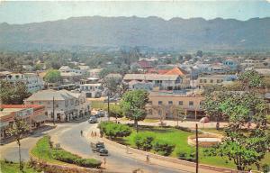 Jamaica Overlooking Montego Bay in 1960 Postcard