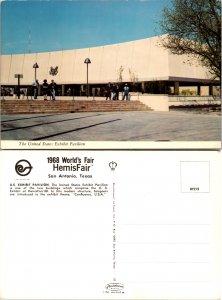 1968 World's Fair HemisFair, San Antonio, Texas, U.S. Exhibit Pavilion (10425)