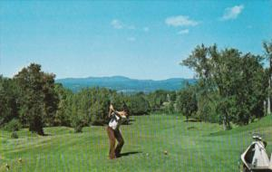 Golf 14th Tee Barre Country Club Barre Vermont