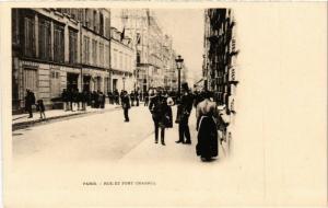 CPA AK JUDAICA DREYFUS AFFAIR Paris - Rue et Fort Chabrol (a1211)