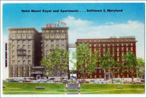 Hotel Mount Royal & Apartments, Baltimore MD