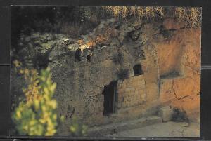 Jerusalem, Garden Tomb, unused