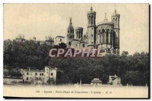 Postcard Old Lyon Notre Dame Fourvi?res The Apse