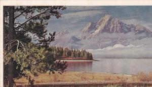Wyoming   Grand Teton National park  Mt. Morgan
