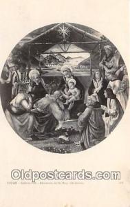 Religion Post card  Galleria Pitti