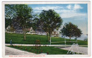 Park Row, Northport Camp Grounds, Me
