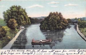 Scenic view,  Elm Park, Worcester, Massachusetts,   PU_1906