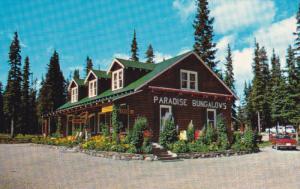 Paradise Lodge & Bungalows , Lake Louise , Alberta , Canada , 50-60s