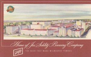 MILWAUKEE , Wisconsin, 1940-60s ; Home of Jos. Schlitz Brewing Company