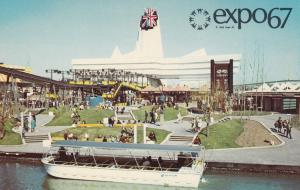 MONTREAL , Quebec, Canada, EXPO67 ; Great Britain Pavilion # 3