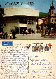 Karlovy Vary, Czechoslovakia Republic (9342)