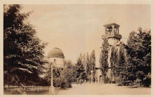 Real Photo Postcard Chimes & Observatory at the University of Washington~130613