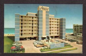 VA Aquarius Motel Apartments VIRGINIA BEACH Postcard
