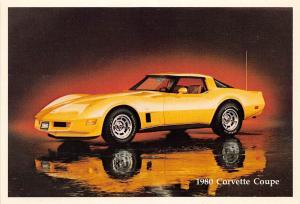 C17/ Chevrolet Corvette Advertising Postcard Chrome Muscle Car 1980 Coupe 7