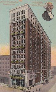 INDIANAPOLIS , Indiana , 1914 ; Hotel Washington