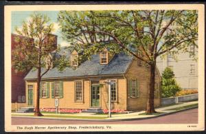 The Hugh Mercer Apothecary Shop,Fredericksburg,VA BIN