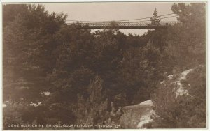 Dorset; Alum Chine Bridge, Bournemouth 5802 RP PPC By Judges, Unused, c 1930's