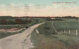 Golf Links at St Andrews NB, New Brunswick, Canada - pm 1909 - DB