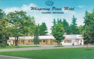 Michigan Calumet Whispering Pines Motel