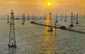 Venezuela, Maracaibo, Amanecer sobre el Lago