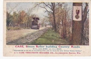 Case Team Roller Building Country Roads