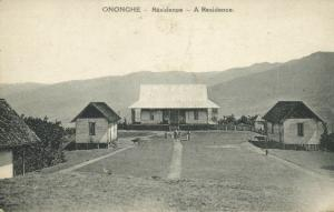 papua new guinea, ONONGHE, Residence Building (1910s)