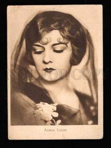025586 Alice TERRY Famous American Movie Star. Vintage PC