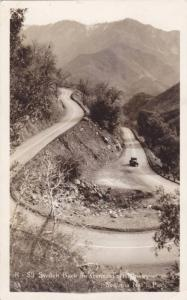 RP, Switch Back On General's Highway, Sequoia National Park, Tulare County, C...