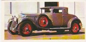 Craven Black Cat Vintage Cigarette Card Vintage Cars No 44 1930 Bentley Great...