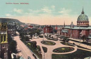 Dominion Square, Montreal, Quebec, Canada, 1900-1910s