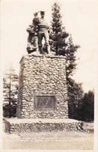 RP: Pioneer Monument / Statue , DONNER LAKE , California, 1910-20s