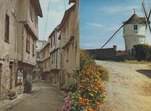 Moulin De La Masse Basse Rue 2x Vintage French Postcard s