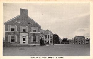 Cedartown Georgia~Ethel Harpst Childrens Orphanage~Methodist Church Mission~1940