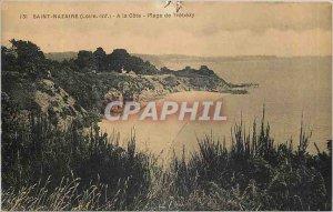 Old Postcard Saint Nazaire Loire Inf A Cote Plage Trébézy