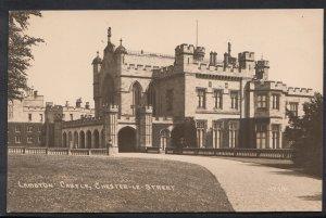 Durham Postcard - Lambton Castle, Chester-Le-Street   J370