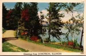 Illinois Greetings From Junction