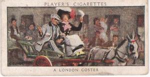 Cigarette Card Player's Dandies No 50 A London Coster