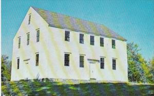 New Hampshire Danville The Old Meeting House Built 1760
