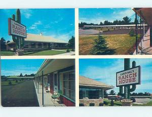 Unused Pre-1980 MOTEL SCENE Rochester New Hampshire NH B5954