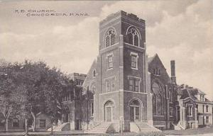Kansas Concordia M E Church Albertype