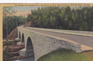 15285 NC The Bridge over Linville River